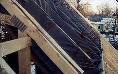 Decking materials roof decking material cost for Roof sheathing material options