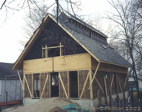 Design coalition for Fiberboard roof sheathing