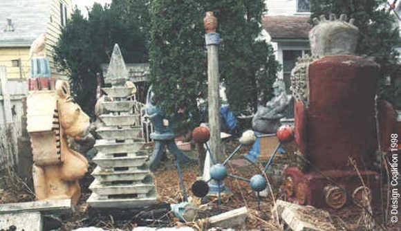 Backyard Sculpture Garden Backyard Sculpture Garden